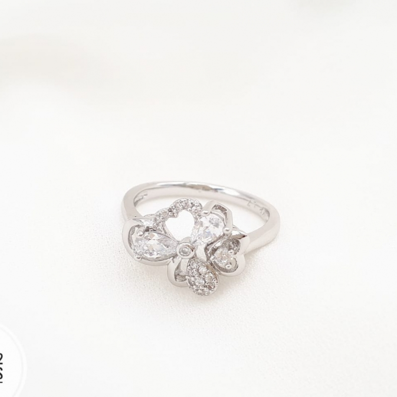 XUPING CINCIN SILVER BUTTERFLY