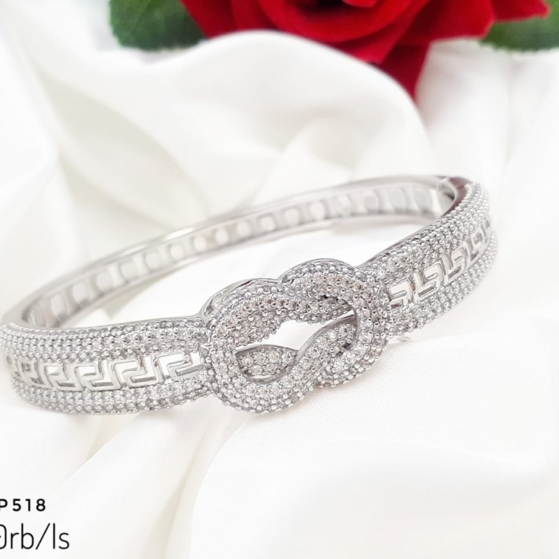 XUPING GELANG BANGLE SILVER LUX TIED