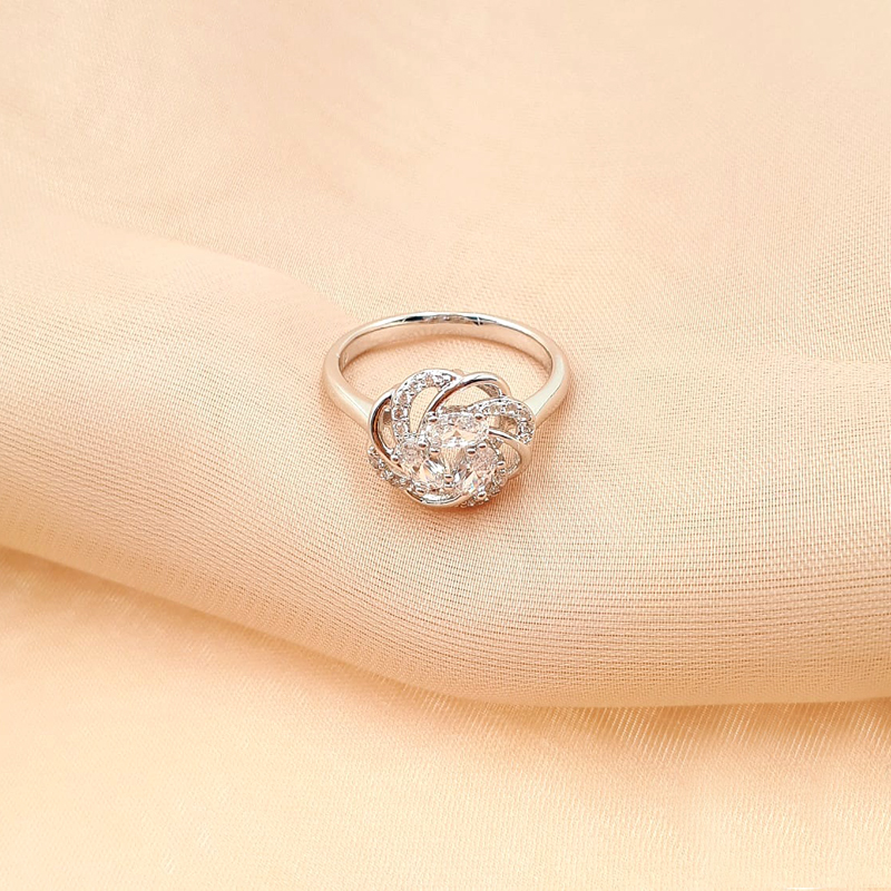 XUPING CINCIN SILVER FLOWER