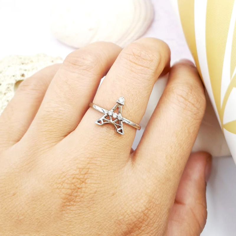 XUPING CINCIN SILVER EIFFEL TOWER